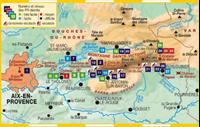 carte La Montagne Sainte-Victoire... à pied