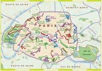Carte-Topoguide-Parcs et jardins de Paris... à pied®