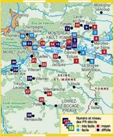 Aux confluents de la Seine, de l'Yonne et du Loing... à pied®