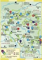 Carte Topoguide Le Perche... à pied® - Parc naturel régional