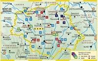 Carte Topoguide Le Gers... à pied®