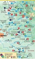 Carte Topoguide Les Portes de Bretagne... à pied®