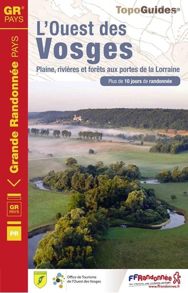 Topoguide L'Ouest des Vosges