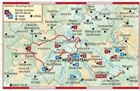 Carte Topoguide L'Ouest des Vosges