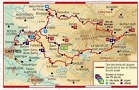 Carte Topoguide Tours en Hautes Terres d'Oc