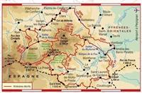 Carte Topoguide Tours et Ronde du Canigó