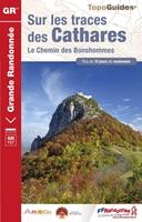 Topoguide Sur les traces des Cathares - Le Chemin des Bonshommes GR® 107