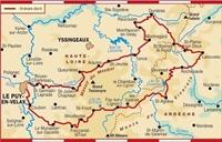 Carte Topoguide Le Chemin de Saint-Régis - Entre Velay et Vivarais