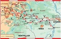 Carte Topoguide La Grande Traversée du Gard - GR® 6