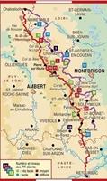 Carte Topoguide Les Monts du Forez - GR® 3