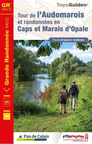Topoguide tour de l'Audomarois et randonnées en Caps et Marais d'Opale