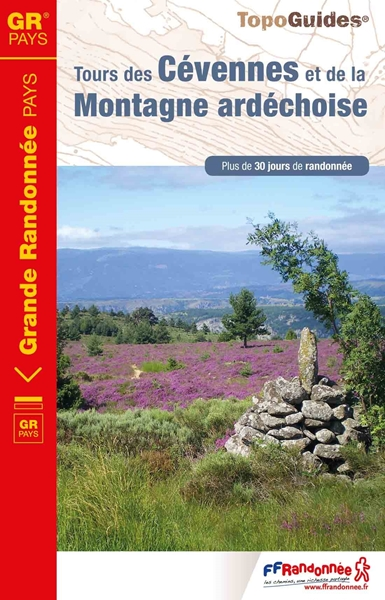 Topoguide tours des Cévennes et de la montagne ardéchoise
