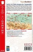 Carte Sentier vers Saint Jacques de Compostelle via Arles - GR653 - GR101 - GR78