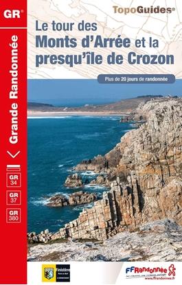 Topoguide le tour des Monts d'Arrée et la presqu'île de Crozon-GR®34