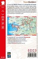 Carte topoguide le tour des Monts d'Arrée et la presqu'île de Crozon
