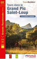 Topoguide tours dans le grand Pic Saint Loup