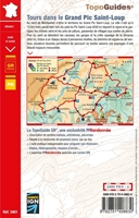 Carte topoguide tours dans le Grand Pic Saint Loup