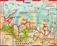 Carte-Topoguide pyrenees centrales - GR®10