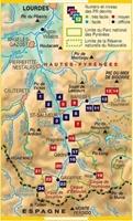 Carte topoguide lacs et sommets du Pays de Toy - Barèges Gavarnie Parc national des Pyrénées