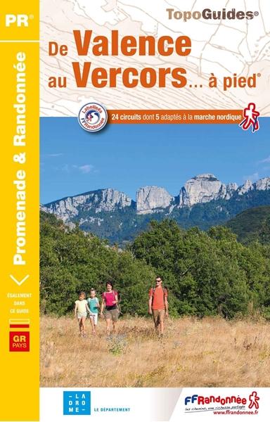 topoguide De Valence au Vercors à pied