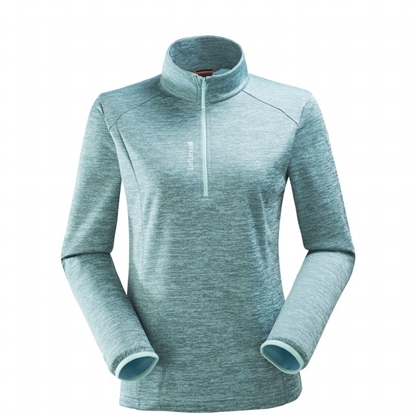 Micro Polaire - femme ACCESS MICRO T-ZIP W Turquoise - LAFUMA