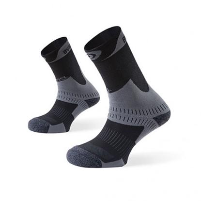 Mi-chaussettes Trek Anthracite BV Sport