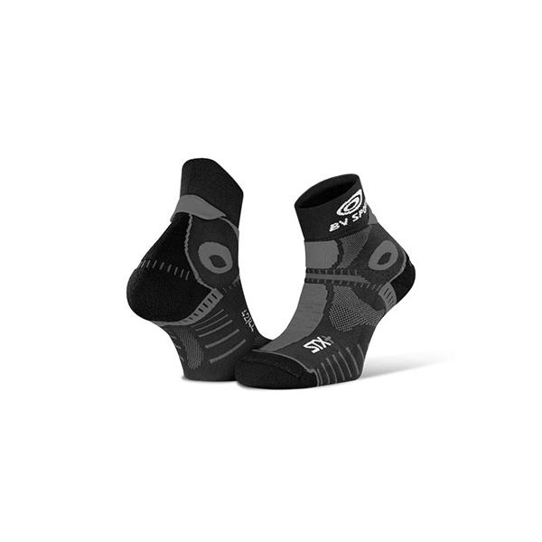 Mi-Chaussette Trail STX+ EVO- Gris - BV Sport