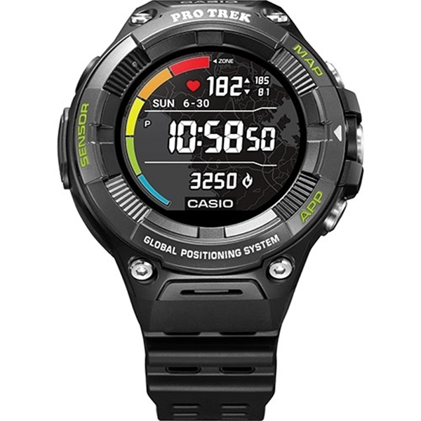 CASIO Pro Trek Smart WSD-F21HR-BKAGE Noire
