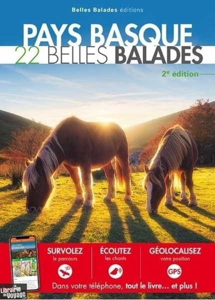 couverture 22 balades en pays basque