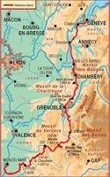 Carte du chemin des huguenots-GR965
