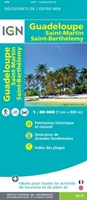 Carte IGN - Guadeloupe - Saint-Martin - Saint-Barthélémy