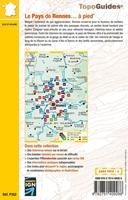 Carte topoguide le Pays de Rennes