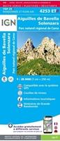 carte IGN-4253ETR-Aiguilles de Bavella/Solenzara/Pnr de Corse (Résistante)-recto