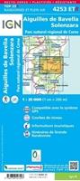 carte IGN-4253ETR-Aiguilles de Bavella/Solenzara/Pnr de Corse (Résistante)-verso