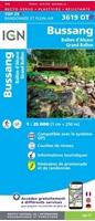 Bussang - Ballon d'alsace - Grand ballon - Résistante - Carte IGN