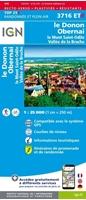 Le donon/Mont-sainte-odile/Molsheim/obernai/vallee de la bruche - résistante - carte IGN