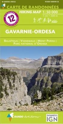 cartes rando Gavarnie - Ordesa 1/50 000