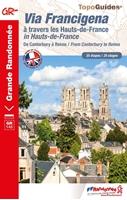 topoguide Via Francigena : Canterbury - Reims