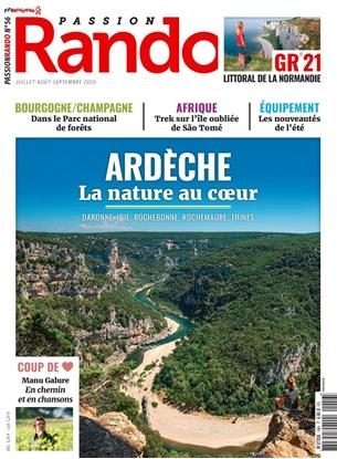 couverture passion rando magazine 46