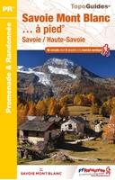 couverture-Topoguide Savoie Mont Blanc... à pied®