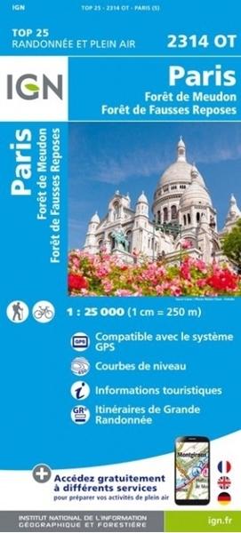 Paris / Forêts de Meudon et de fausses reposes