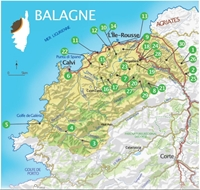 Corse-Balagne 30 belles balades