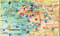 topoguide du PNR du Mont-Ventoux- 4eme de couverture