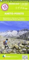 carte rando évasion - Pyrénées N°13