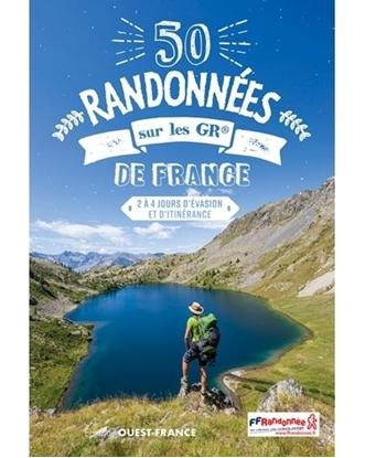 Couverture - 50 Randonnées sur les GR® de France