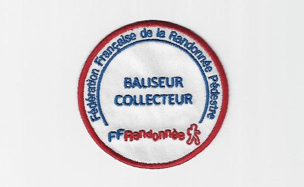 Ecusson siglé Baliseur- FFRandonnée