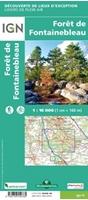 Carte Forêt de Fontainebleau-82019-verso