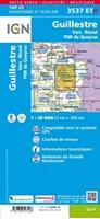 Carte-IGN-3537ETR-Guillestre/Vars/Risoul/Pnr du Queyras (Résistante)-verso