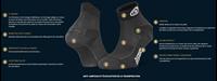 Fiche Technique-246-001-Socquette-Tige Basse_Double_EVO_Polyamide noire-grise