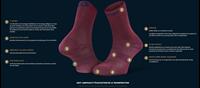 Image Fiche Technique-242-004-Mi-chaussette Double EVO bordeaux